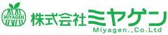 Miyagen Co., Ltd. Retina Logo